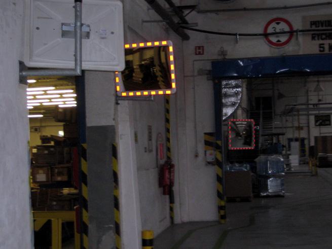 Zrcadla a značení (SCA Packaging, Děčín)
