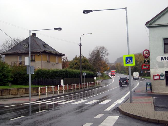 Kompletní ralizace přechodu s diodami (Děčín - Huntířov)
